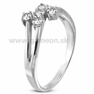 57c137683 Dámsky oceľový prsteň - GAMEON - Jewellery, Watches & Accessories