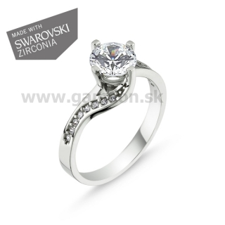 270bc7d6b Elegantný Swarovski prsteň - GAMEON - Jewellery, Watches & Accessories