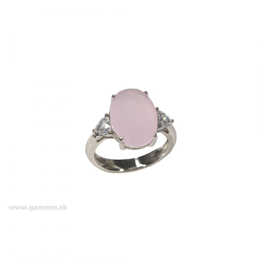 b95b64cc0 Dámsky prsteň s ruženínom - GAMEON - Jewellery, Watches & Accessories