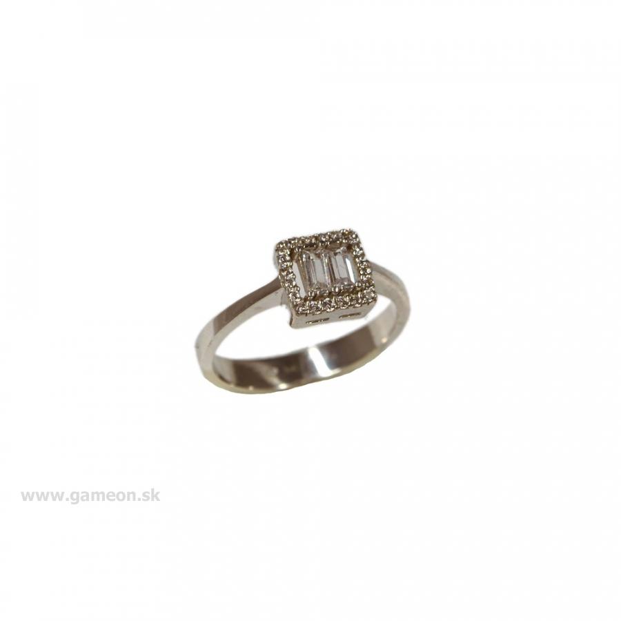 5327c1826 Strieborný prsteň - GAMEON - Jewellery, Watches & Accessories