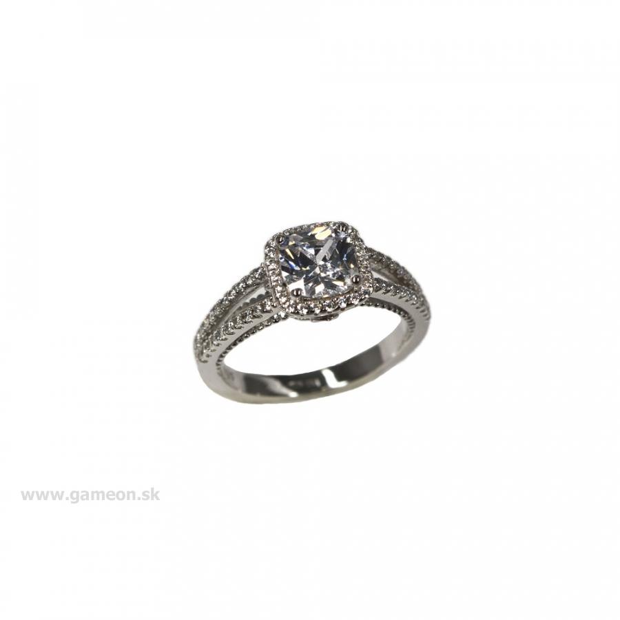 0dd10b3bb Dámsky strieborný prsteň - GAMEON - Jewellery, Watches & Accessories