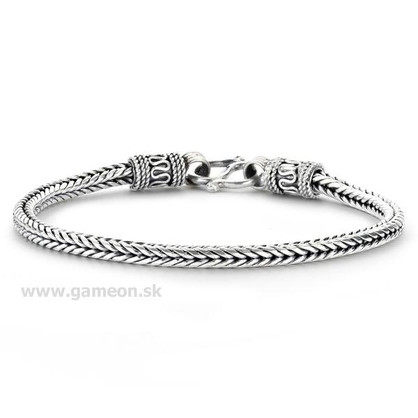 745b135cd Pánsky náramok - striebro 925 - GAMEON - Jewellery, Watches ...