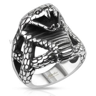 a23a733a6 Pánsky prsteň - KOBRA - GAMEON - Jewellery, Watches & Accessories