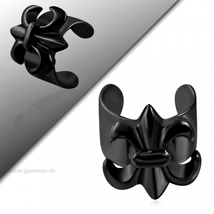 a7613156d Čierna náušnica na jedno ucho - GAMEON - Jewellery, Watches ...